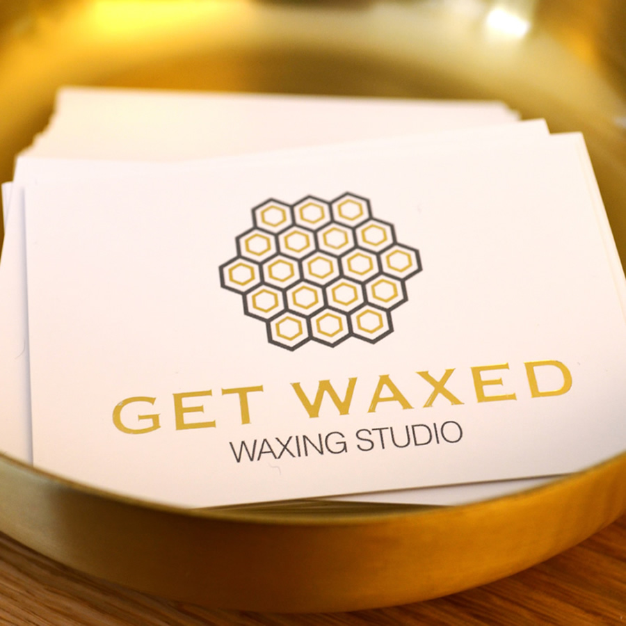 GET WAXED - Waxing Card